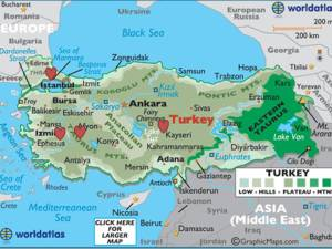 mapa turquia 1
