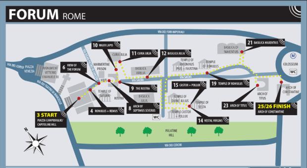 mapa forum